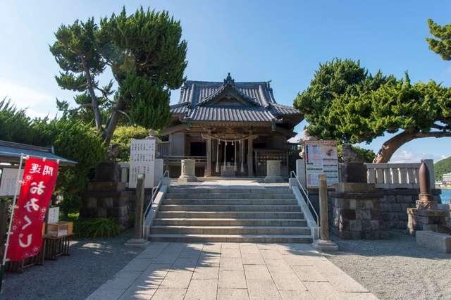 安産祈願で有名な葉山の森戸神社に行ってきました。